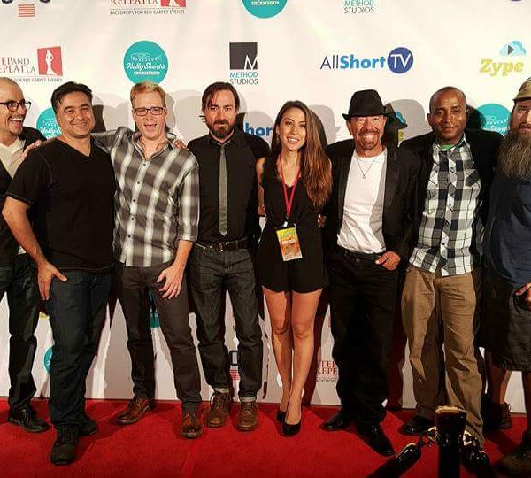 Cast and Crew of Odessa at the screening at Hollyshorts at the Chinese Theatre Hollywood