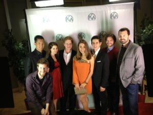 "The ""Spun"" team at the Producers Guild Weekend Challenge screening of the Top 10 films."