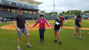 Amazing local BFF team Courtney and Brad Lawless. We were trying to get a jumping photo hahaha