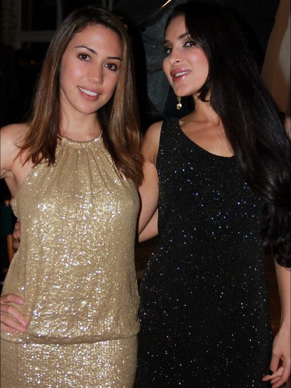 Grace Santos and Saye Yabandeh at AFI Fest, photo by Jimmy Alioto